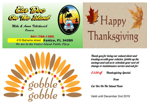 Thanksgiving Coupon